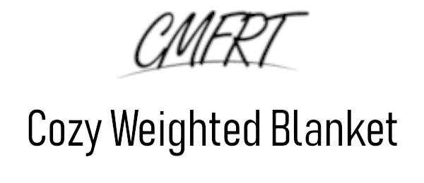 CMFRT Weighted Blanket Logo