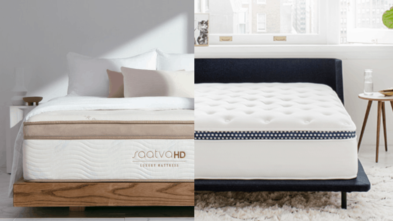 Saatva HD vs Winkbeds Mattress Comparison