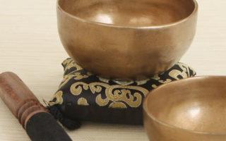 tibetin singing bowl