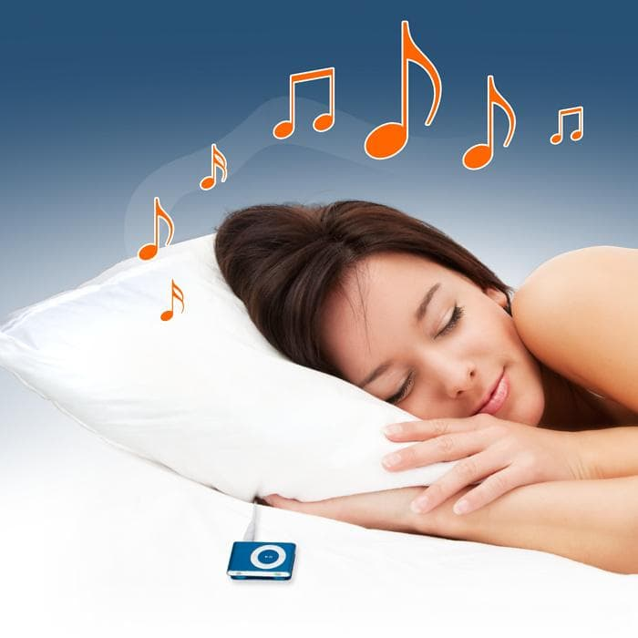 listening to ipod at night