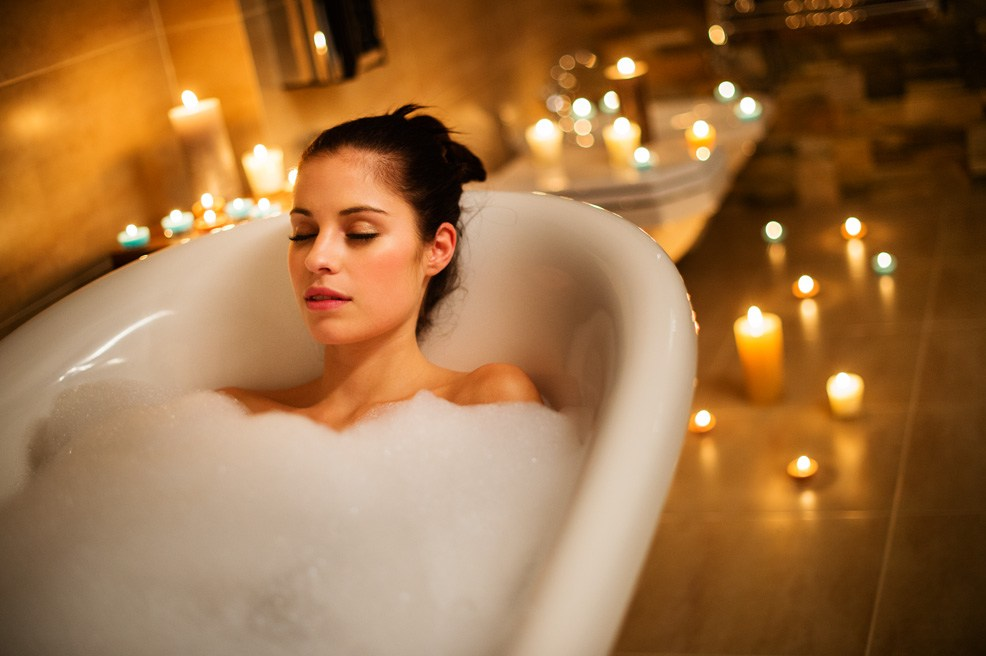 soothe aches and pain with a bath