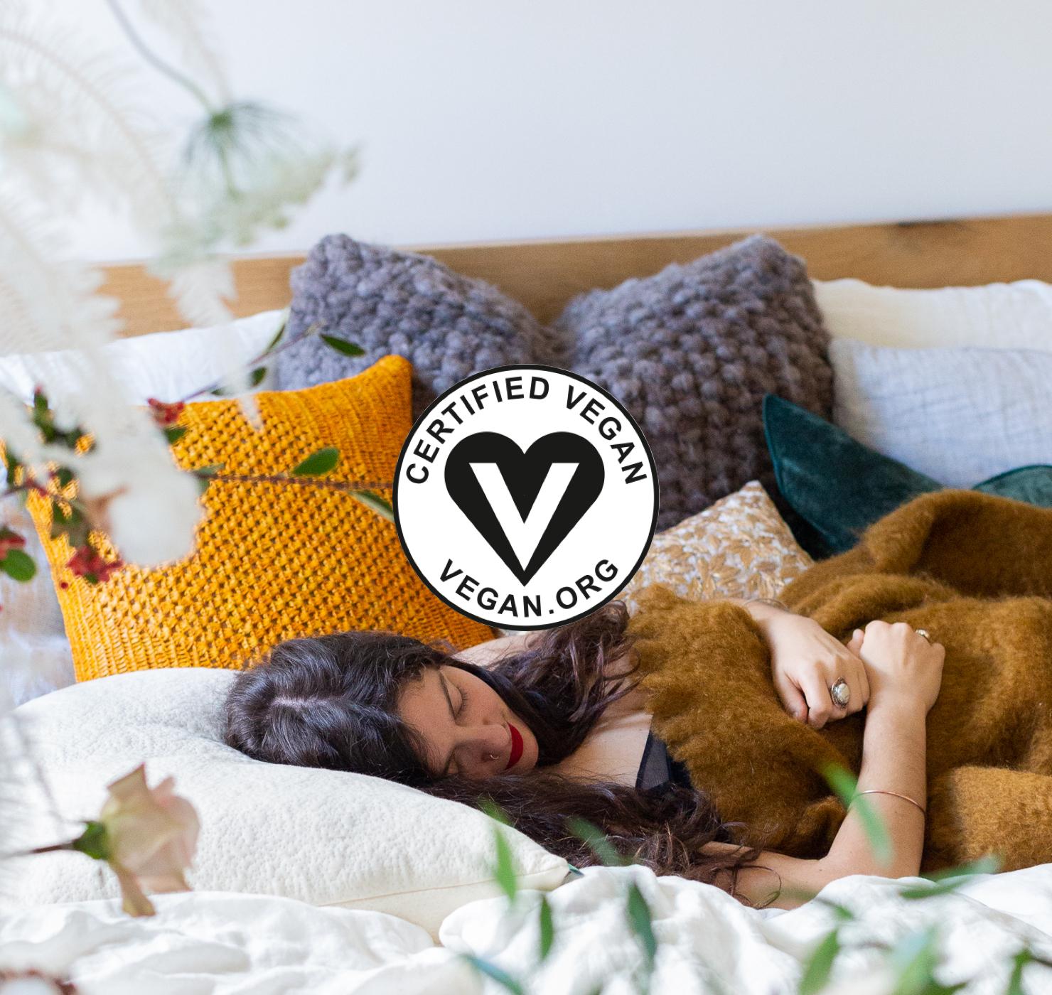 vegan certified mattress topper