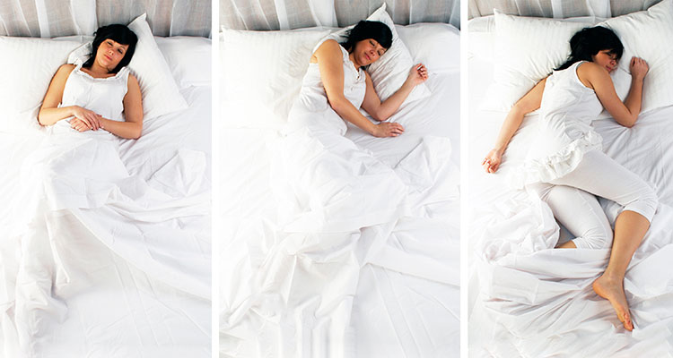 the best sleep positions for comfort