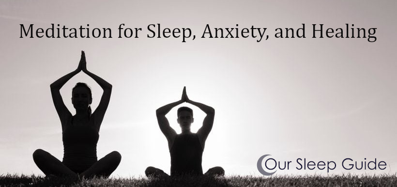 meditation for sleep anxiety and healing