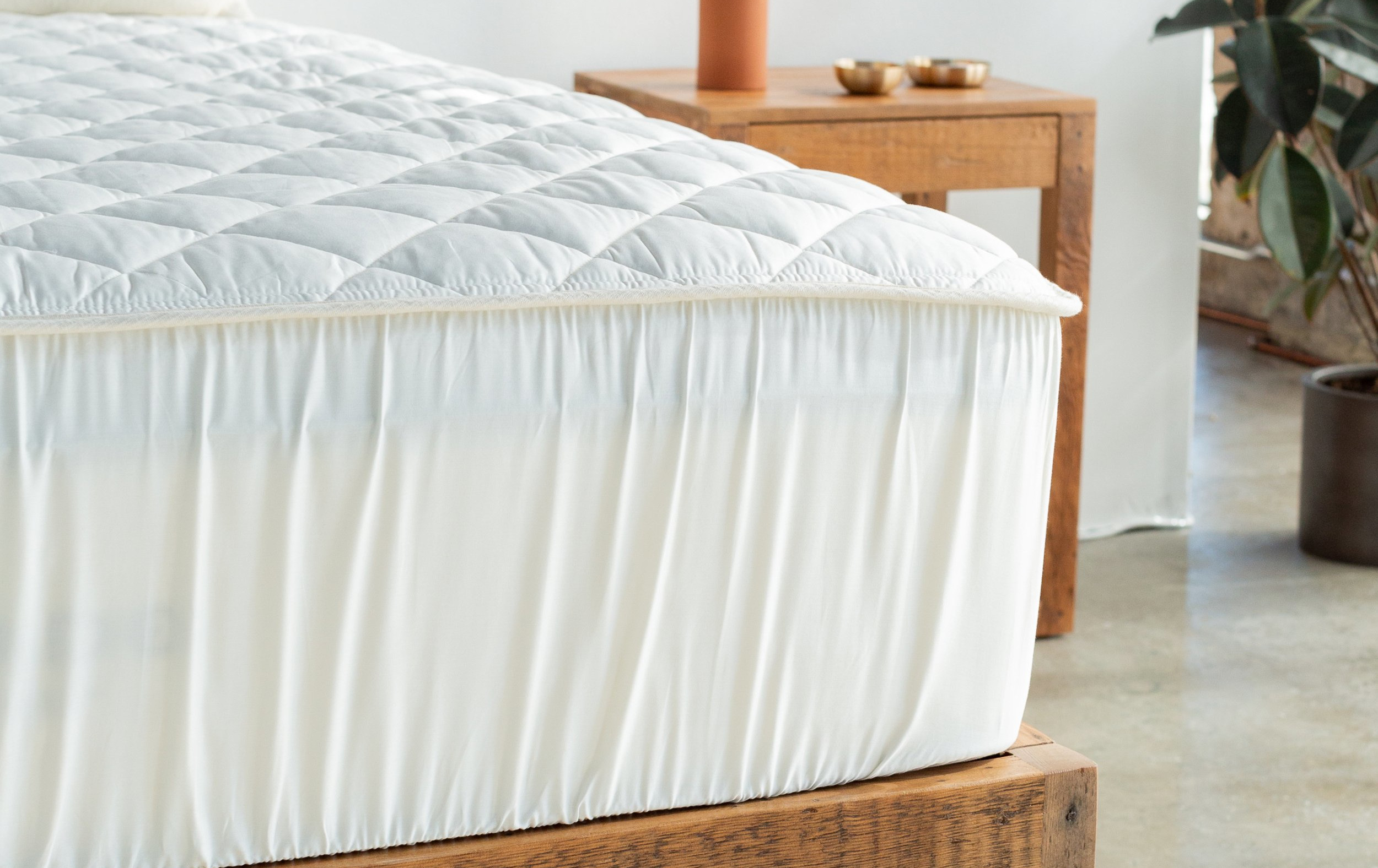 made in american mattress protector plastic free