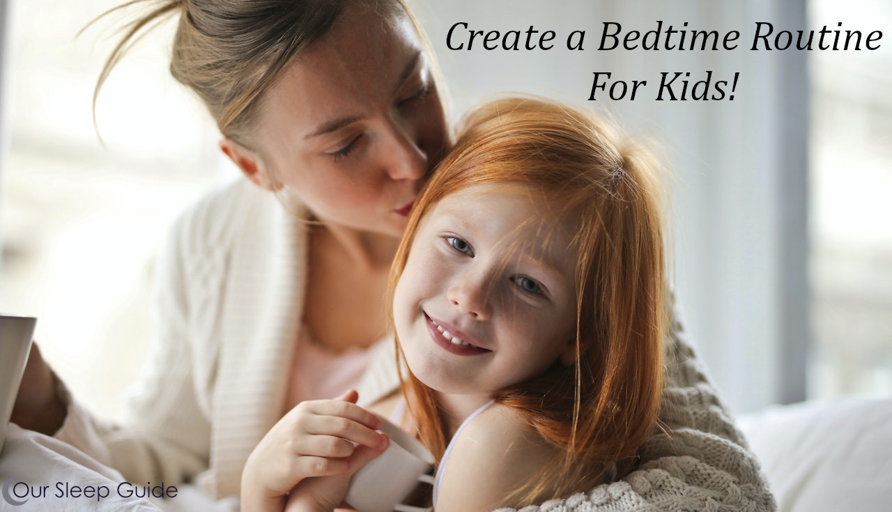 create a bedroom routine made for kids