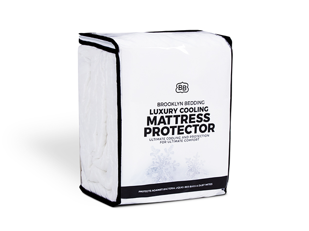 brooklyn bedding luxury cooling mattress protector review