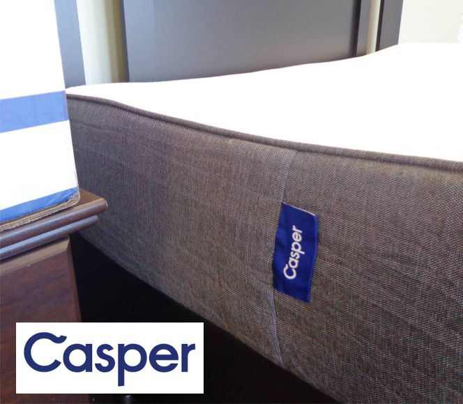 casper mattress side