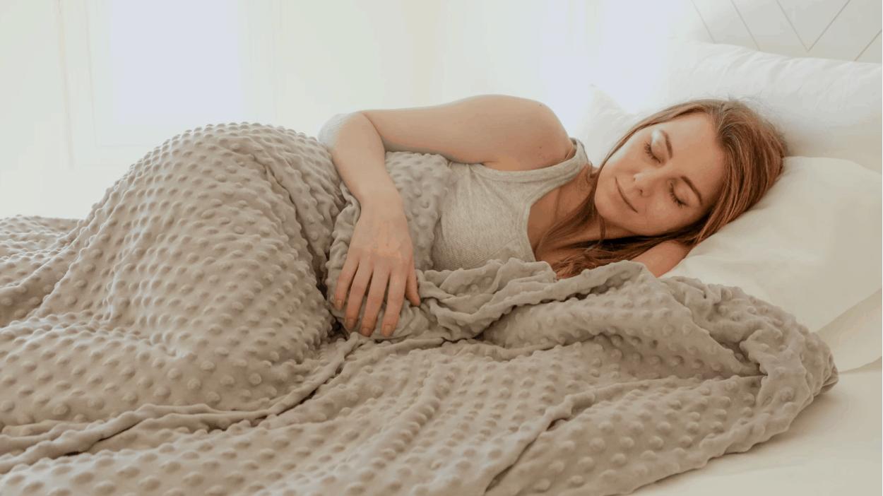 weighted blanket comfort