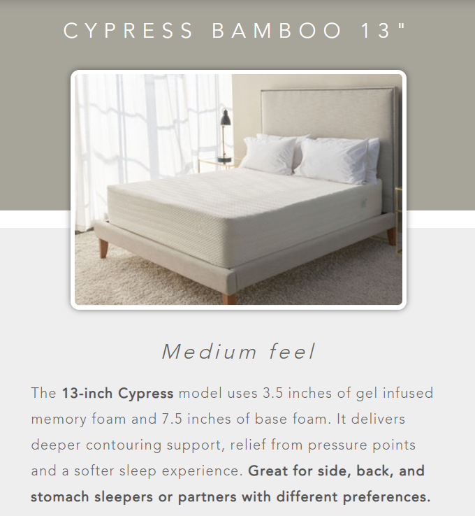 medium firm mattress from brooklyn bedding