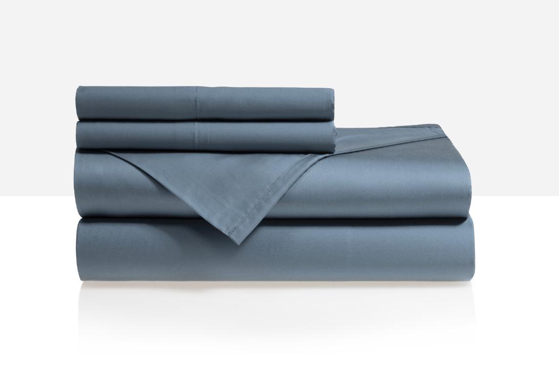 teal blue tencil sheet set review