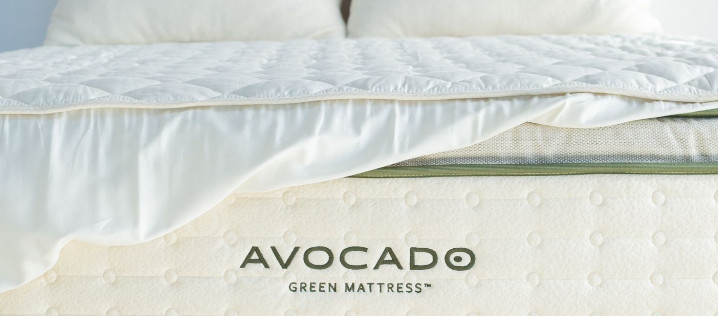 organic cotton quilted mattress pad by avocado review