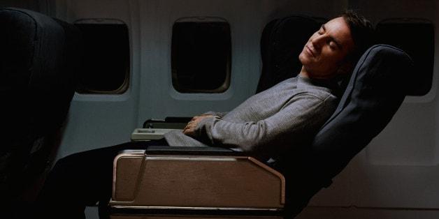 do not disturb taking naps on planes