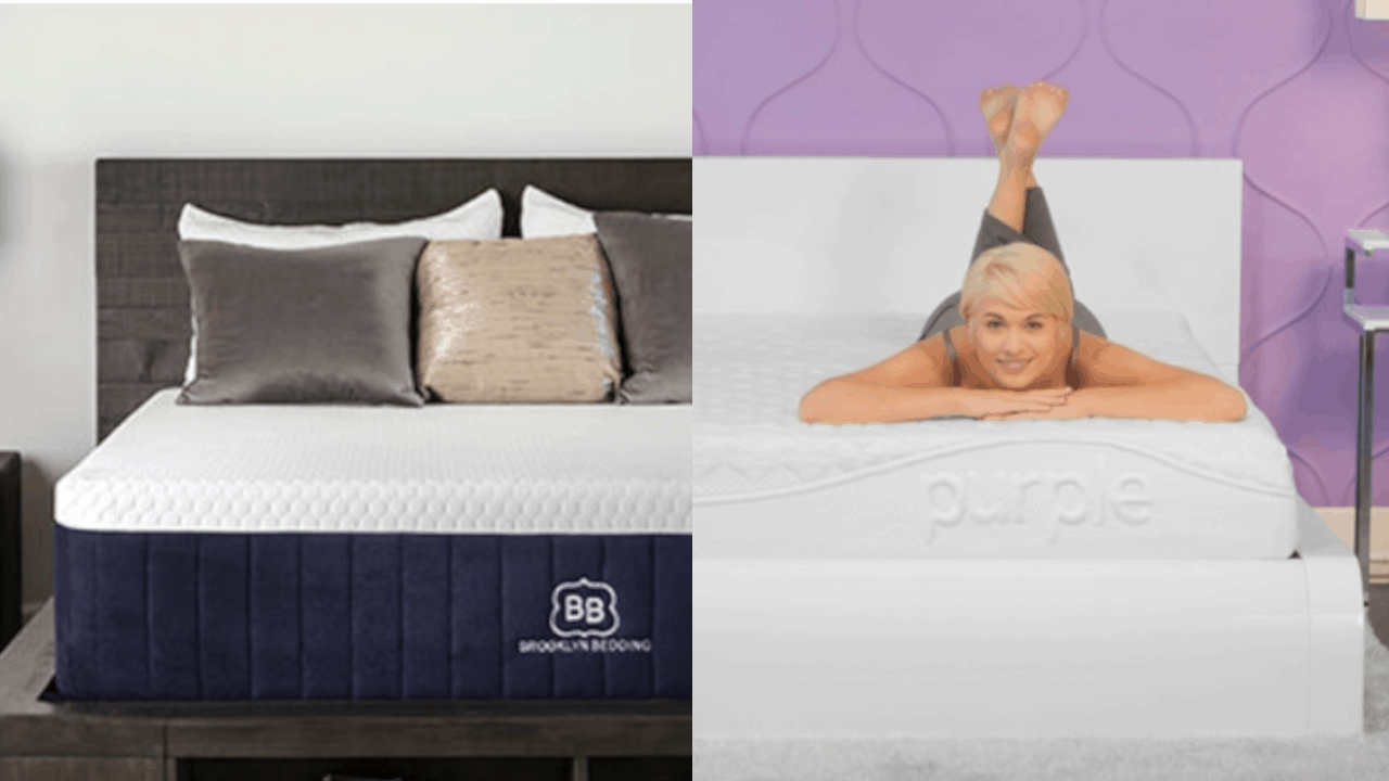 New Purple Mattress VS Brooklyn Aurora Bed Review