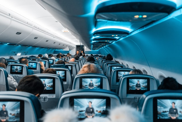 turn off the in flight entertainment