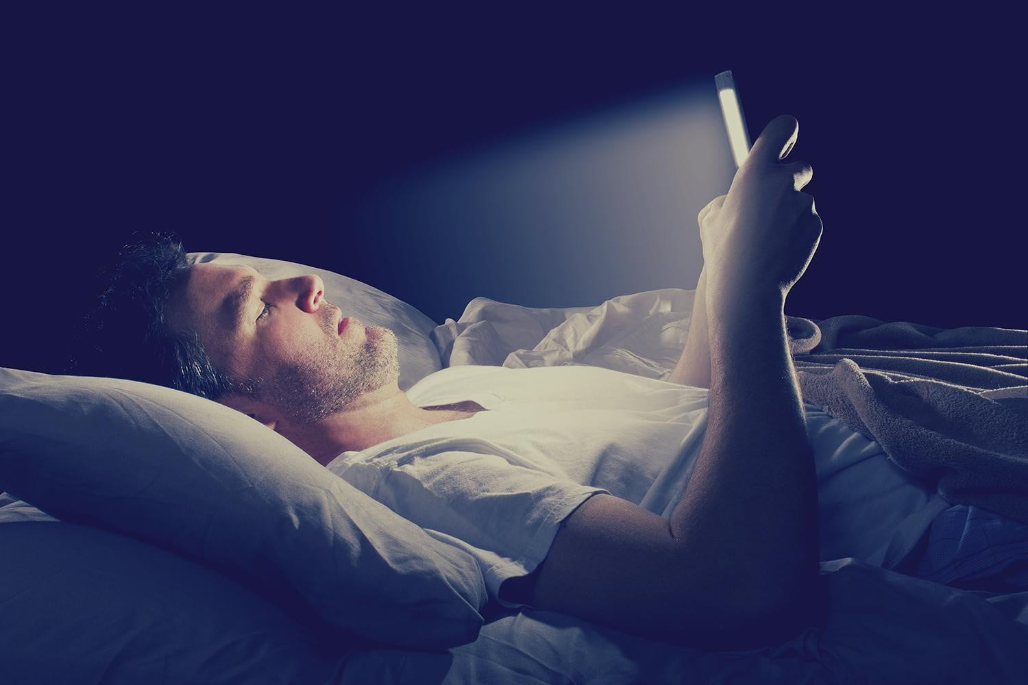 stay off your phone to sleep better