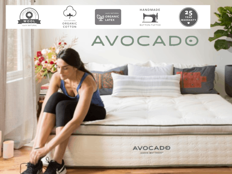 organic mattress avocado