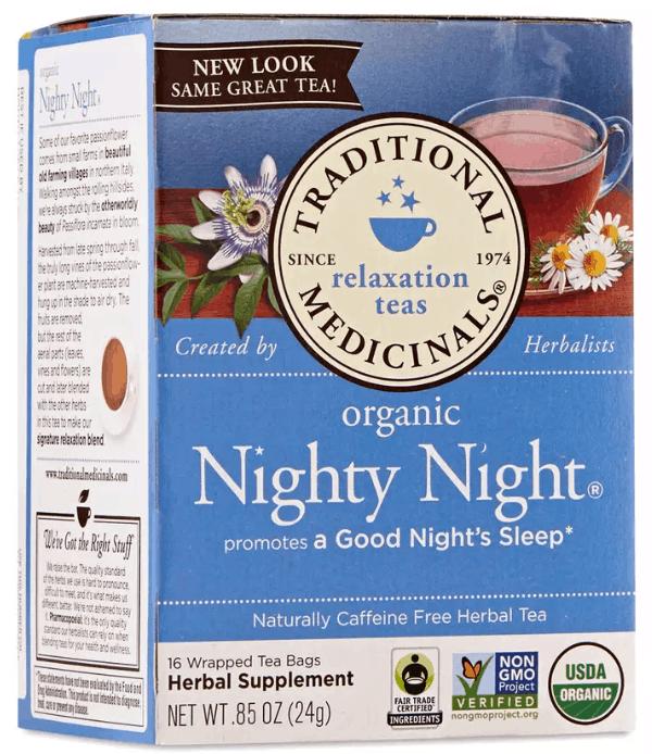 tea good for falling asleep