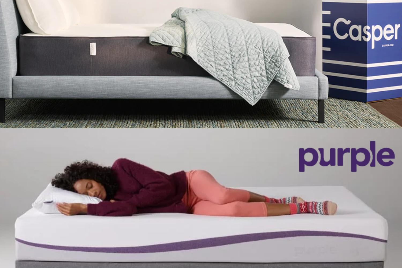 purple vs casper comparison review