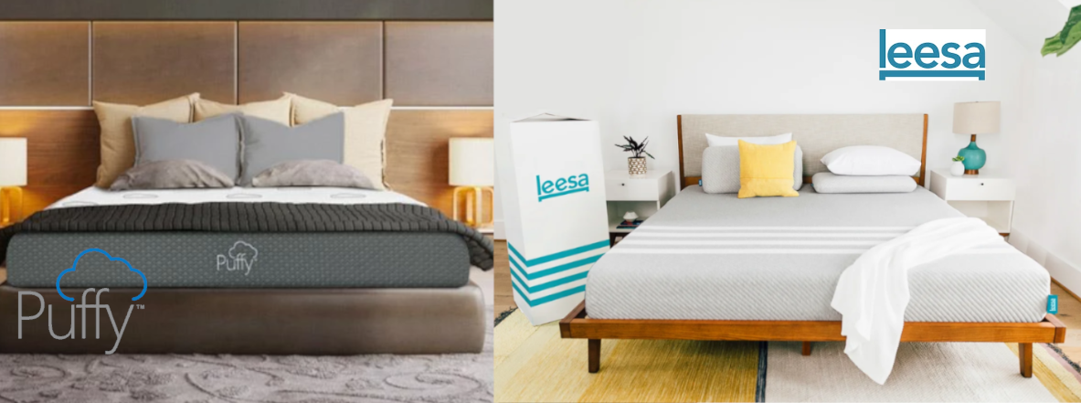 puffy vs leesa original mattress review