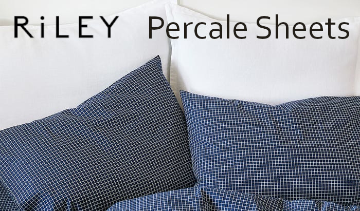 riley percale cotton sheets review
