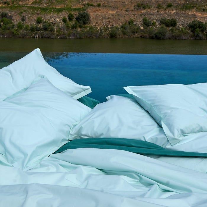 crisp cool long-staple cotton sheets