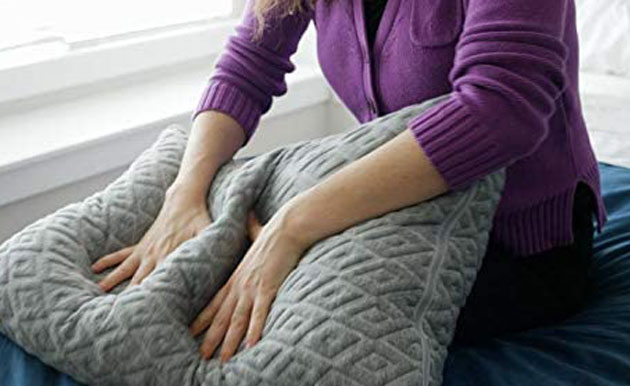 is the shredded foam pillow comfortable?