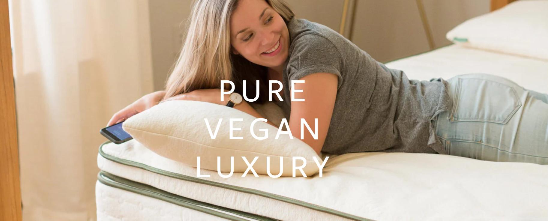 pure vegan luxury mattress topper review