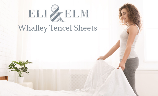 the whalley tencel sheets from eli and elm