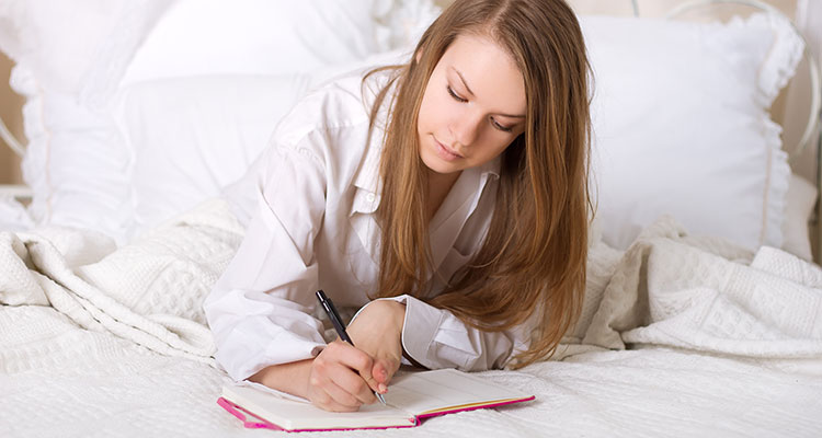 write down your schedule before you go to bed