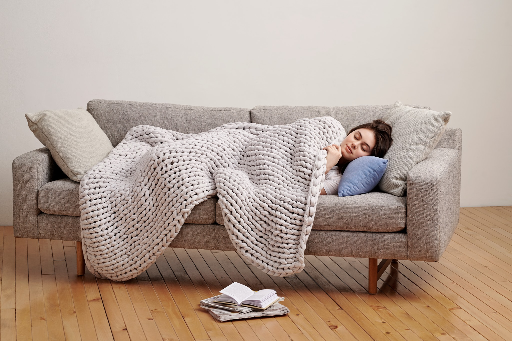 cool blankets for stress relief and better sleep