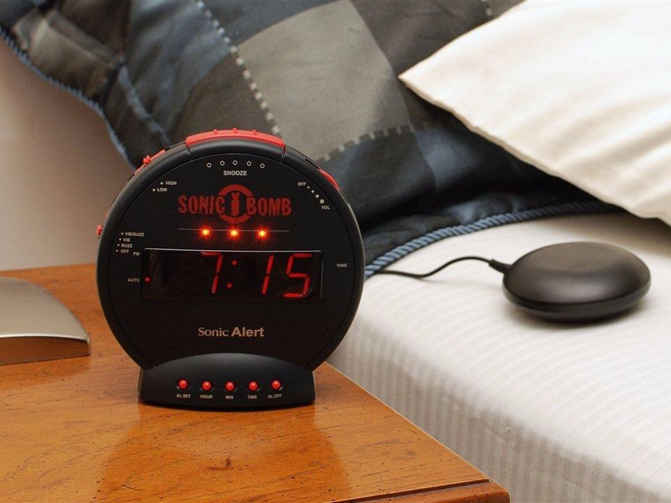 alarm clock that will wake up heavy sleepers