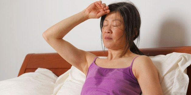 menopause and hot flashes get sleep