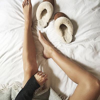 Winter Sleep Tips slippers