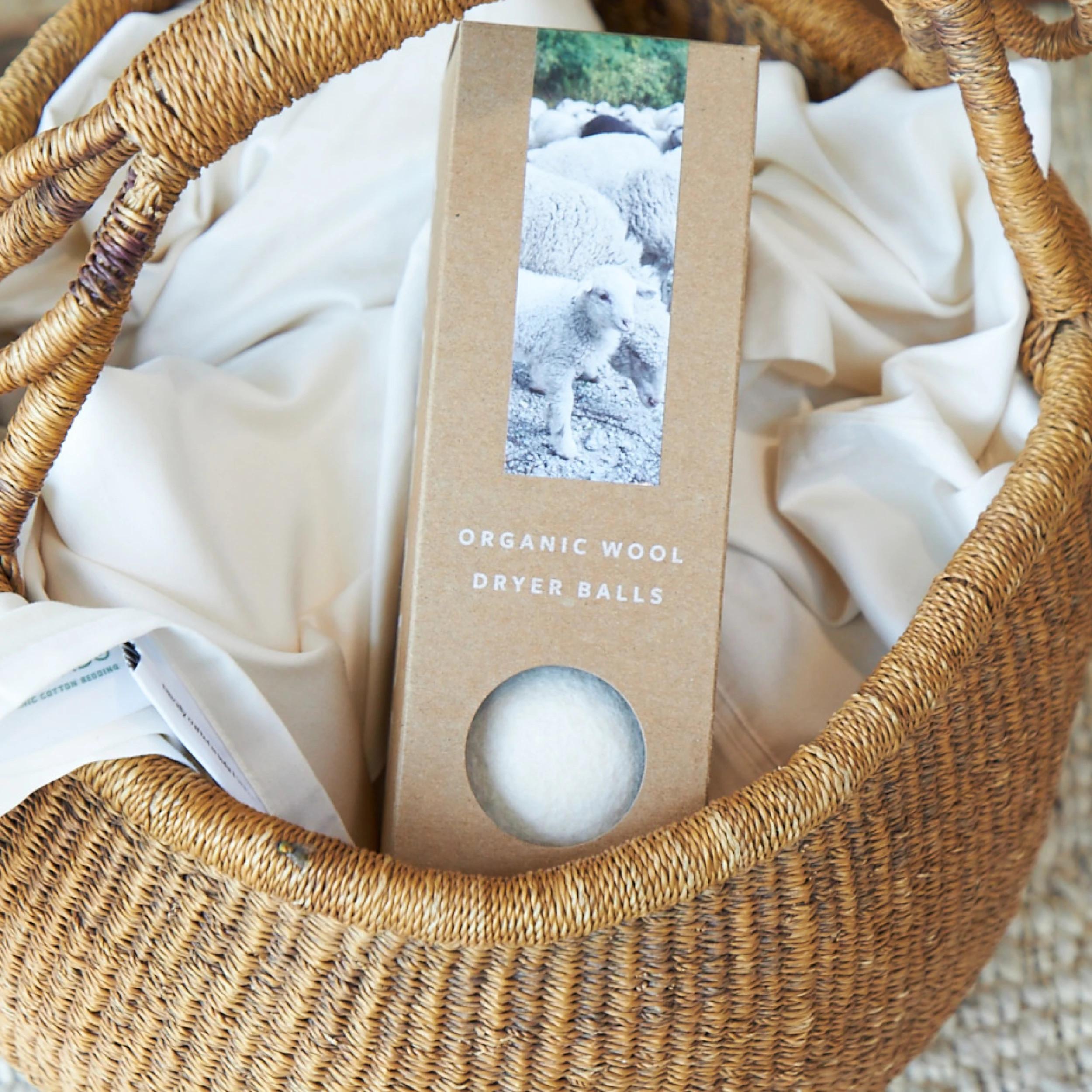 organic wool dryer balls