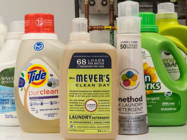 eco friendly laundry detergent brands