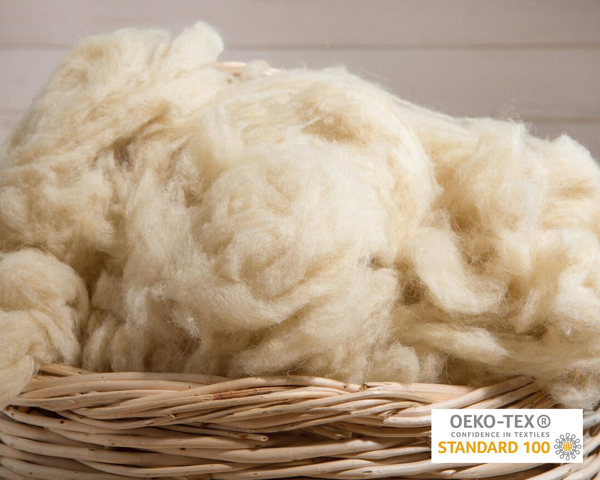 wool is a temperature regulator