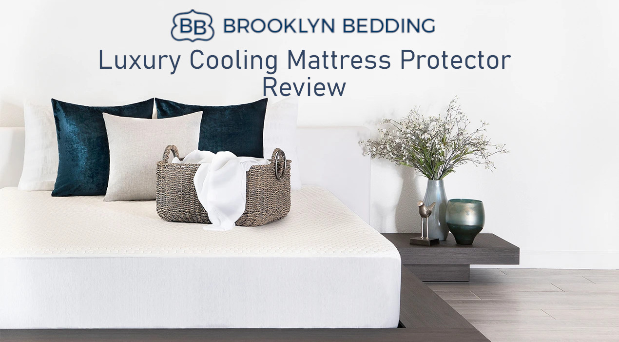 luxury cooling mattress protector review