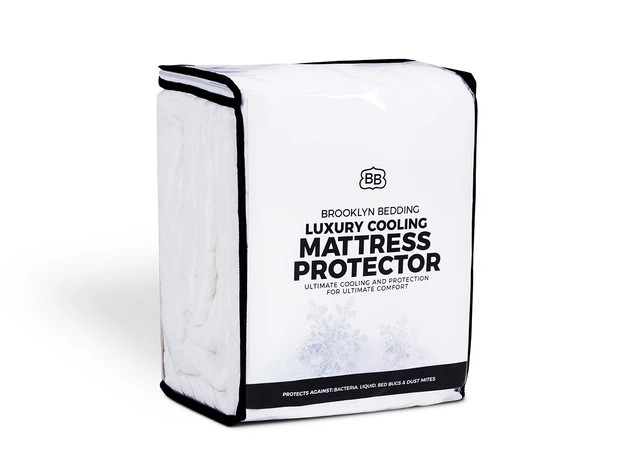brooklyn bedding mattress protector review aurora cooling cover