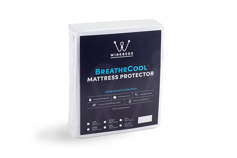 our sleep guide review over the breathcloud mattress cover