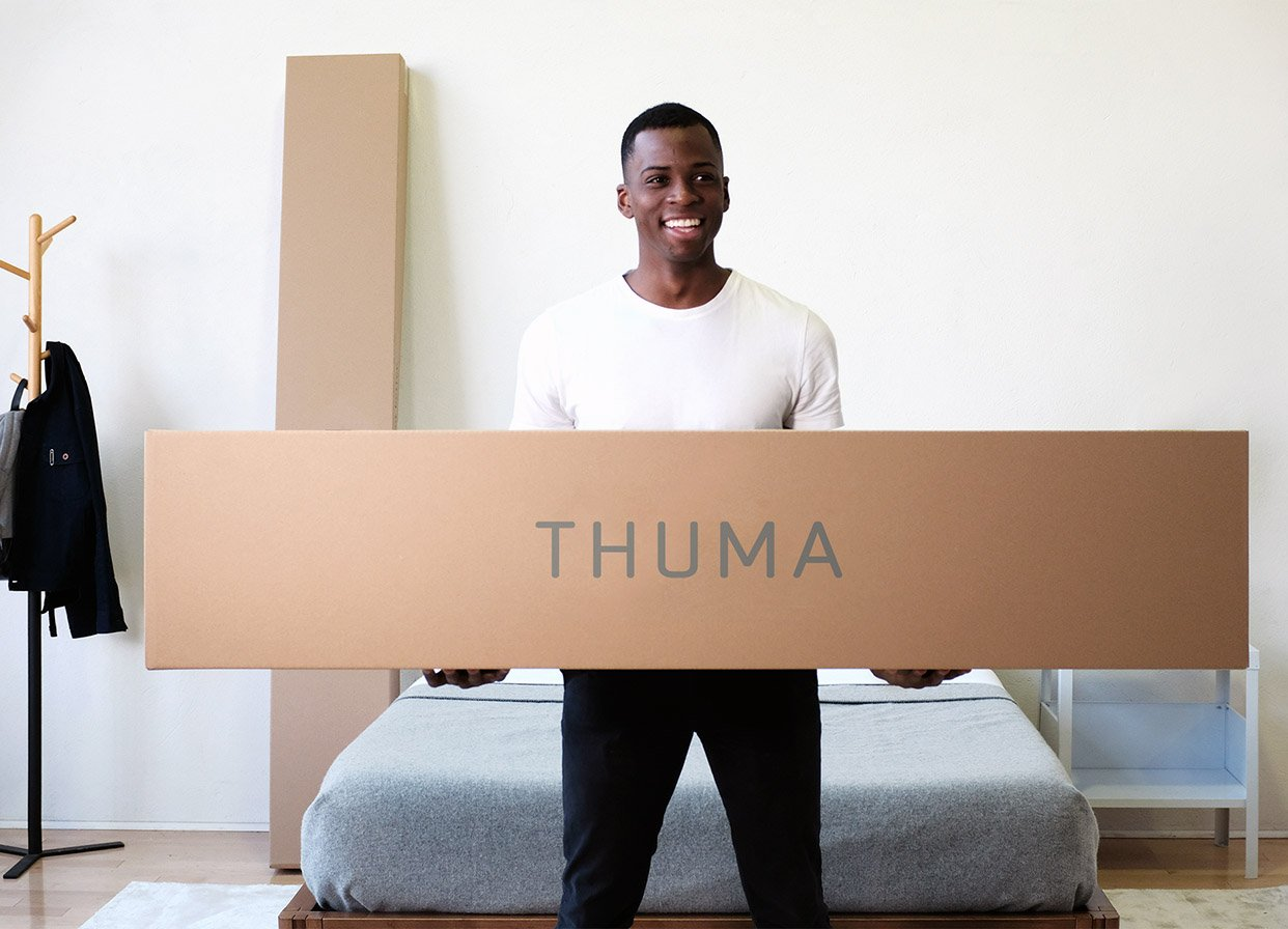 thuma shipping and boxes