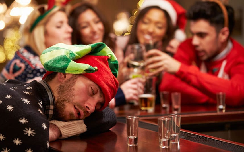 don't drink too much over the holidays