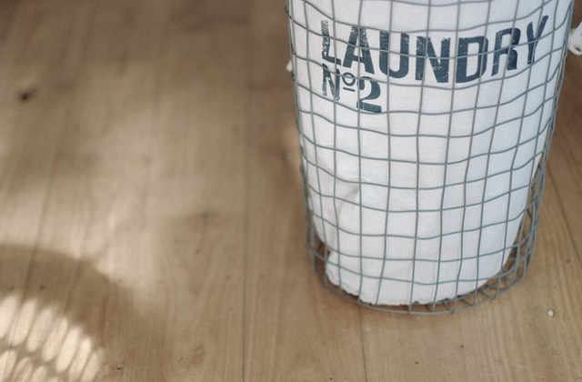 laundry basket keep your bedroom clean