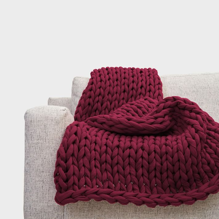 knitted throw blankets that are worth the price