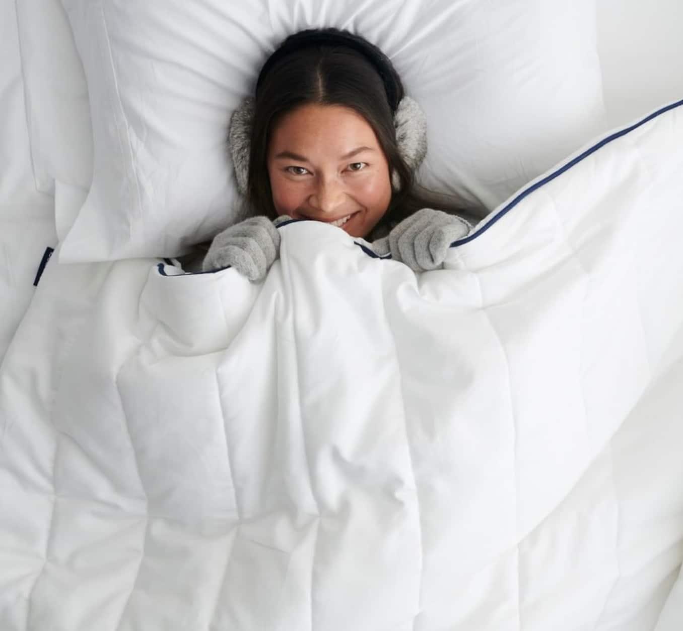 bearaby weighted blanket sleeps cool
