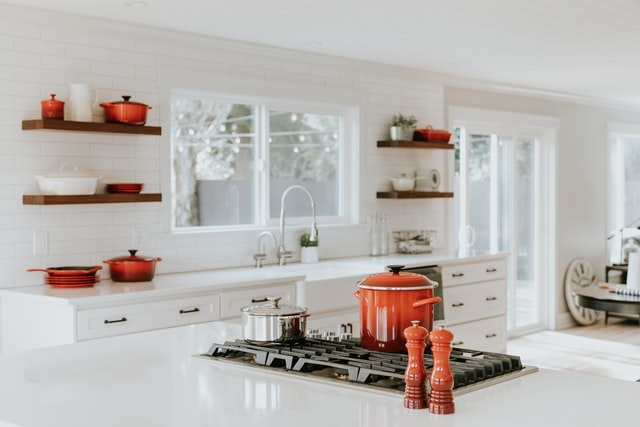 clean up the kitchen after you are finished cooking