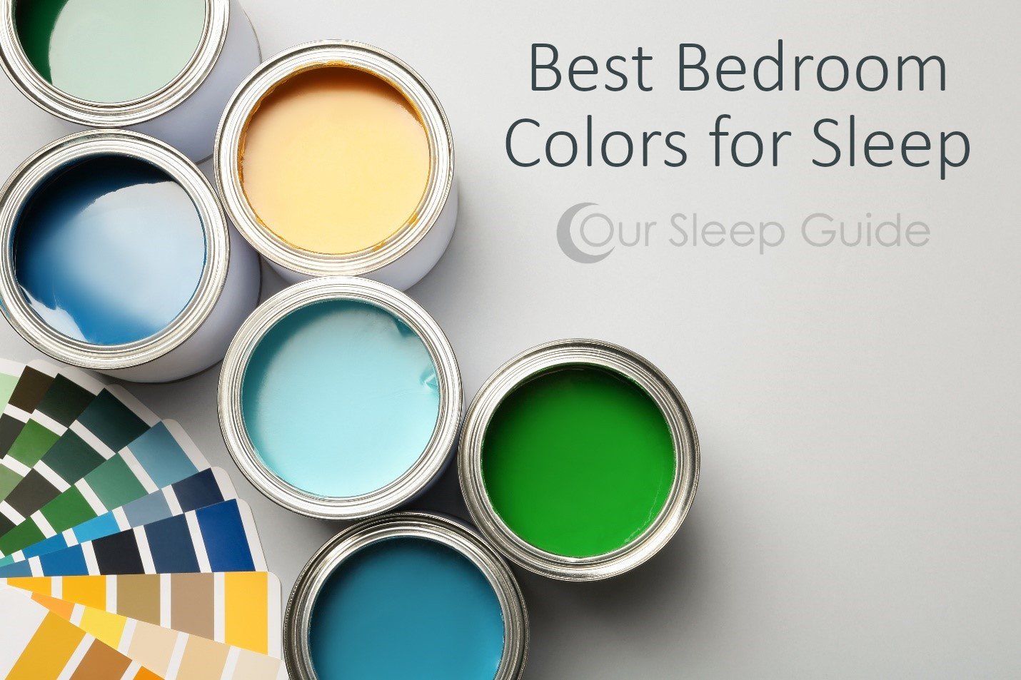 what are the best bedroom colors for sleep?
