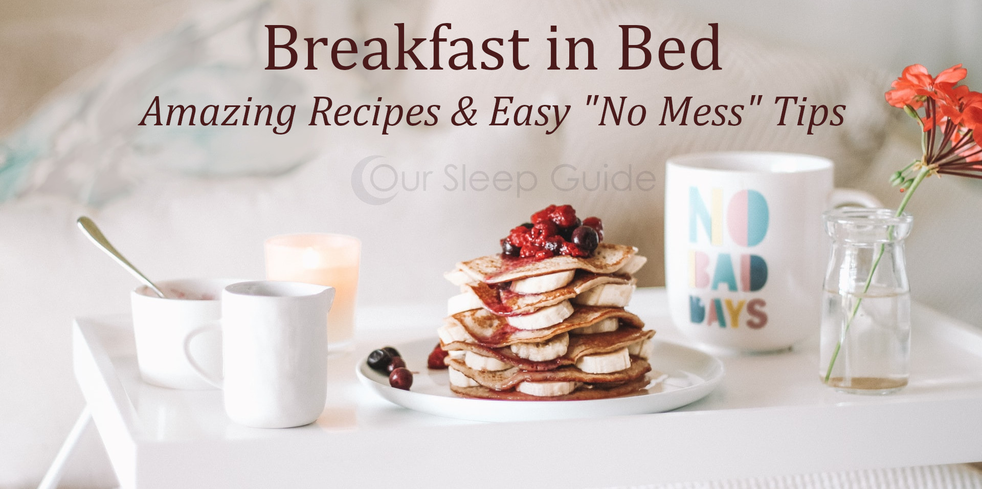 breakfast in bed tips and tricks