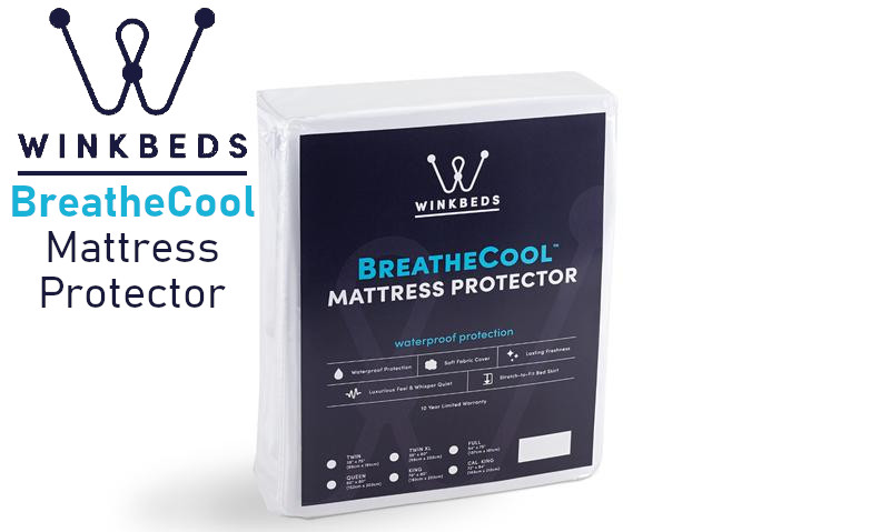 breathe cool mattress protector from Winkbeds cool mattress