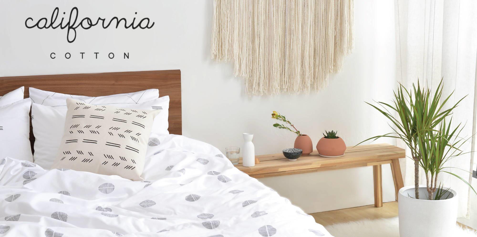 california cotton sateen sheets review